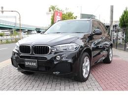 BMW X5 xドライブ 35d Mスポーツ 4WD セレクトP黒革ACC7人RモニターLEDワンオナ