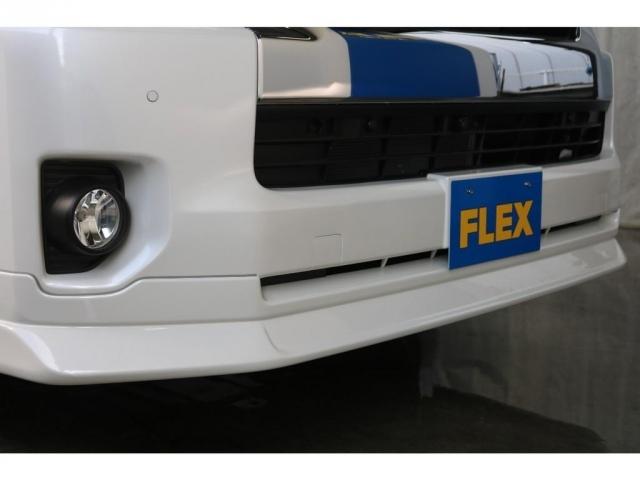 新品のFLEXオリジナルのフロントスポイラーを装着しています!!