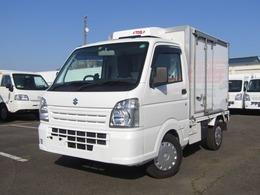 スズキ キャリイ 菱重製冷蔵冷凍車・低温・4WD・MT