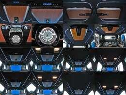 ●アームレスト(カップホルダー)●快適温熱シート+ベンチレーションシート●読書灯(LED/アルミ削り出し)●大型ハイグレードコンソールボックス(小物トレイ+カップホルダー2個付)●本杢内装加飾