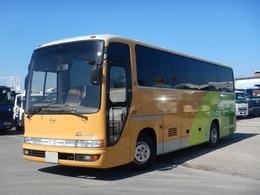 日野自動車 メルファ 29人乗り バス ハイデッカー フルエアサス 貫通トランク2本 ニーリング