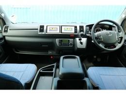 未登録新車 ハイエース ワゴン GL 2700cc ガソリン 2WD シートアレンジVer1デニム