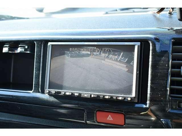 バックカメラも装備しておりますので、駐車時も安心です☆
