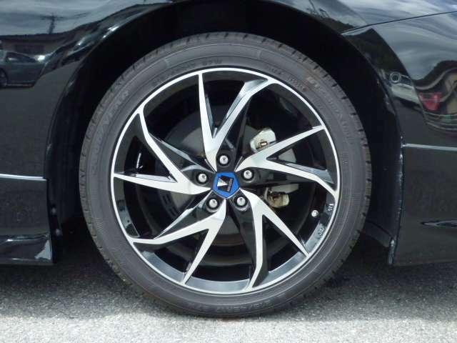モデリスタ17インチアルミ装着 新品タイヤ4本付