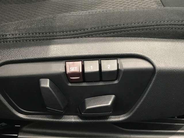 電動シートを装備しております。
