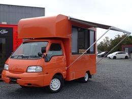 日産 バネットトラック 1.8 DX ダブルタイヤ フードトラック キッチンカー 新規架装