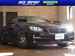 BMW 6シリーズカブリオレ 640i 赤革 ACC HUD LED HDD地デジBカメ 禁煙20AW