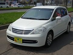 日産 ティーダ の中古車 1.5 アクシス 4WD 北海道札幌市北区 35.0万円