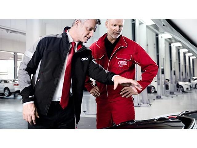 納車前点検100項目100項目もの厳しい点検項目を全てクリアした車だけがAudi認定中古車として認められます。だからこそ、Audi車の性能を最大限に発揮できるのです。