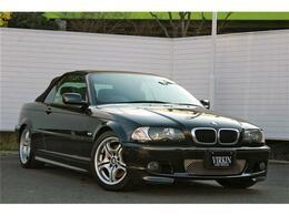 BMW 3シリーズカブリオレ 330Ci Mスポーツ 黒革Pシート HID ETC シートヒーター