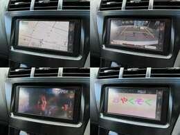 純正SDナビが装備されております♪画面もクリアで運転中も確認しやすいです♪テレビとDVDの視聴もお楽しみ頂けます♪Bluetooth機能も付いています♪また安心安全のバックカメラも装備されています♪