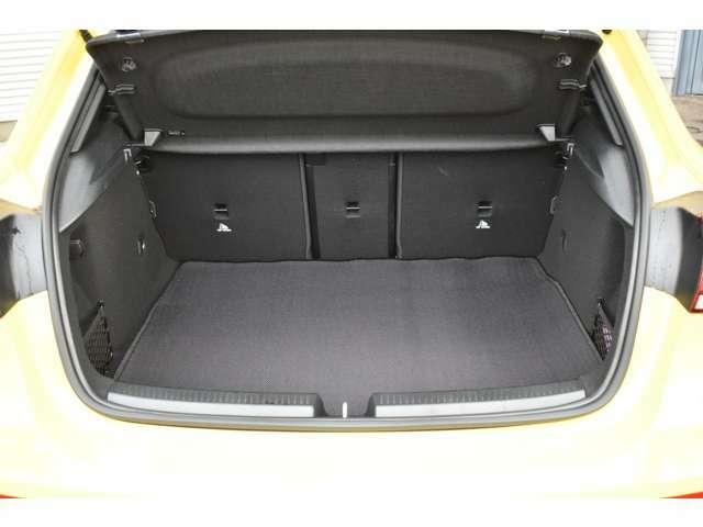 トランクルームは全モデルから29L拡大され370Lの容量がございます。