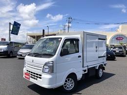 スズキ キャリイ 660 低温冷凍車 1WAY 4WD 低温冷凍アルミパネルコンテナ