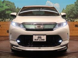 ★「モデリスタ」のエアロつき!見た目に大きく変化があります。元々かっこいいお車ですが、一気にかっこよくなりますね♪