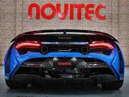 NOVITECエキゾーストシステム、NOVITECエンジンパフォーマンスシステムまでを装備したフルコンプリートカーになります。