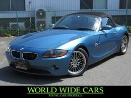 BMW Z4 ロードスター2.2i 走行72000km/ルーフオープン/ETC/2シーター