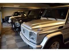 メルセデスベンツGクラスの豊富な在庫を一度ご覧ください。