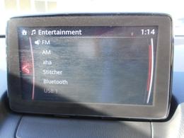 FM AMはもちろんBLUETOOTHまで付いた多彩なAVソースが売りです。