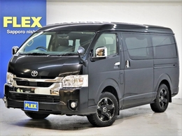 トヨタ ハイエース 2.7 GL ロング ミドルルーフ 4WD FLEX Ver1 ナビ フリップダウン