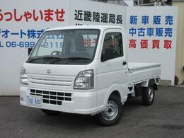 スズキ キャリイ 660 KCエアコン・パワステ スズキ セーフティサポート 装着車 3方開 AT セーフティサポート