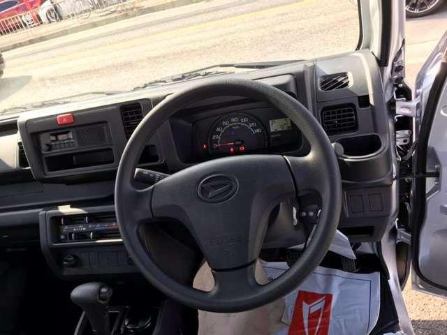 安心新車メーカー保証付オプションカラー&省力パック付お買得な1台オートマ/パワステ/パワーウインドウ/集中ドアロック/キーレスキーフル装備の軽トラがこの価格早い者勝ち
