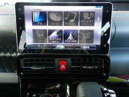 ダイハツ純正ナビNSZN-Y69DS搭載!フルセグTV、DVD再生、CD録音機能、Bluetoothオーディオ、ハンズフリー機能付き!