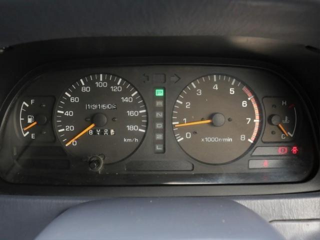 走行13万km。まだまだこれからです!エンジンオイルの交換は怠らないでください!