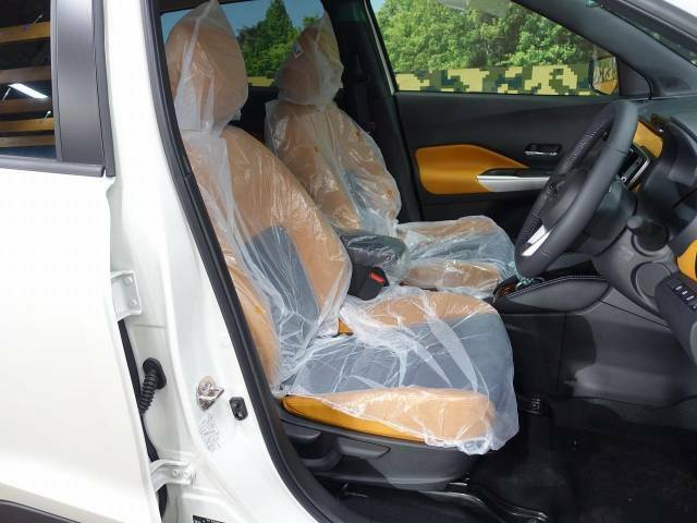 座り心地が良く疲れを感じさせないフロントシート!