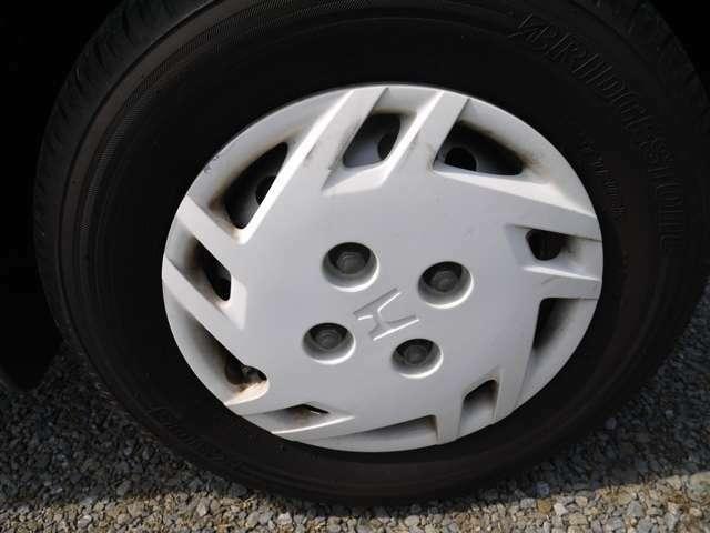 タイヤの溝も8分あります!