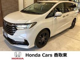 ホンダ オデッセイ 2.0 e:HEV アブソルート EX 自社試乗車 7人乗り 本革シート