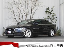 アウディ A6 2.8 FSI クワトロ Sラインパッケージ 4WD 360°サラウンドカメラ 認定中古車