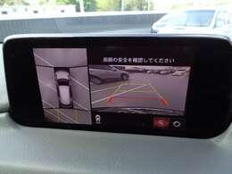 360度モニターで駐車が苦手な方でも安心ですね☆でも安全運転でお願いします☆