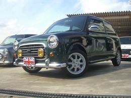 ダイハツ ミラジーノ 660 ミニライトスペシャル 4WD 走行1247キロ リアスポイラー momoステ ABS