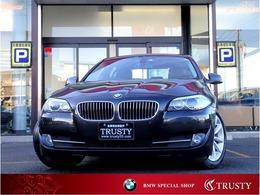 BMW 5シリーズ 528i ハイラインPKG 黒本革 記録簿9枚