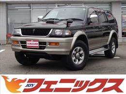 三菱 チャレンジャー 2.8 X ワイドボディ ディーゼルターボ 4WD ワンオーナー ディーゼルターボ