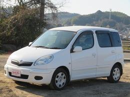 トヨタ ファンカーゴ 1.3 X リヤリビングバージョン キーレス CDデッキ ABS