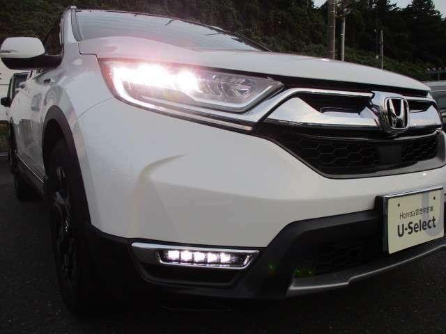 LEDヘッドライトを採用しております。夜のドライブも安心して乗る事が出来ます。