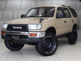 トヨタ ハイラックスサーフ 2.7 SSR-X 4WD ナロー仕様 リフトアップ 新品タイヤ 4WD