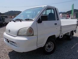 トヨタ ライトエーストラック 850kg積・垂直パワーゲート・平ボディ 車両総重量2345kg・AT