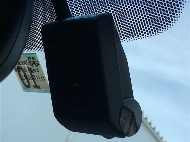 【純正ドライブレコーダー】もしもの事故の際は録画されているので安心です!