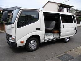 トヨタ ダイナルートバン 観音ドア パワーリフト AT 5t免許 6人乗 5ドア