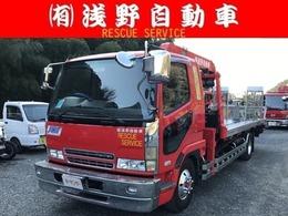 三菱ふそう ファイター カスタムグレードクレーン付き積載車 HDDナビ キーレス ETC