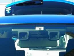 もしもの際には強いブレーキをかけ、衝突回避または被害軽減をはかる デュアルカメラブレーキサポート搭載。