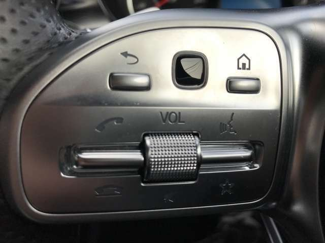 ハンドルに付いているスイッチでボリューム調整などカンタンに出来ます。