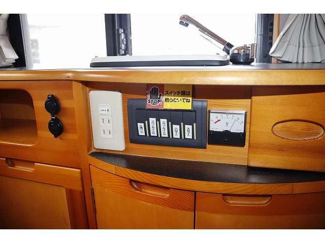 1000Wインバーター搭載ですので、家電製品もご使用頂けます♪