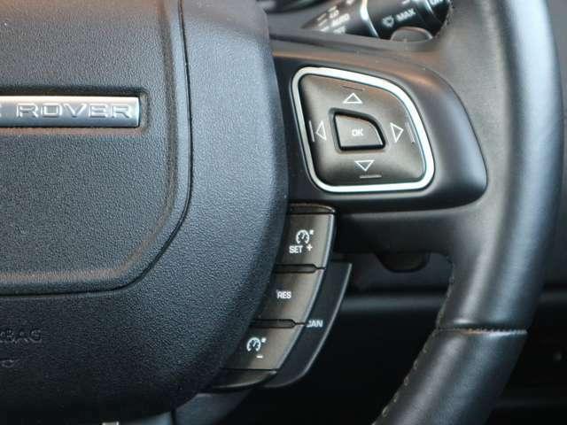 クルーズコントロール・車両設定スイッチになります。簡単な操作でOK。