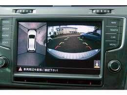 ★純正オプション サラウンドアイカメラシステム カメラ画像を切り替えできます。