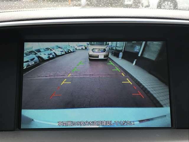 バックモニター目視では見えない車両後部もバッチリ見えます♪今では必需品ですよね。