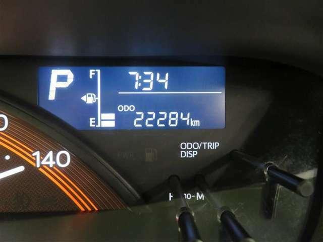 走行距離約22000キロ、まだまだこれからのクルマです。