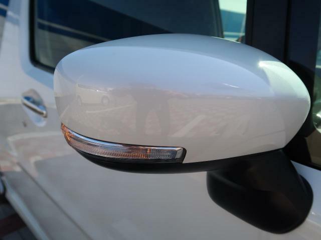 ☆ウインカー付き電動格納ミラー!他車からの視認性が大幅にアップ!見た目だけでなく安全性も向上します♪